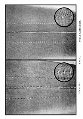 Fig. 42. Fashioning marks.