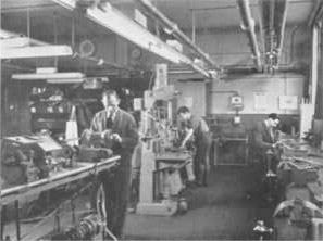 The maintenance workshop